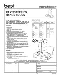 KEX7788 Specification Sheet