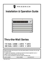 Uni-Fit Cooling only Model Installation&Operation Manual