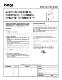 DDEX Specification Sheet