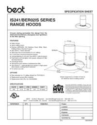 BER02IS Specification Sheet