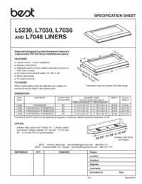 L52 Specification Sheet