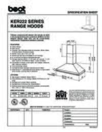 KER222 Specification Sheet