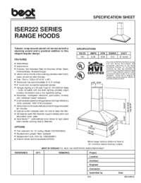 ISER222 Specification Sheet