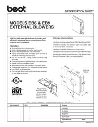 EB6 Specification Sheet