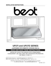 UP27E Installation Guide