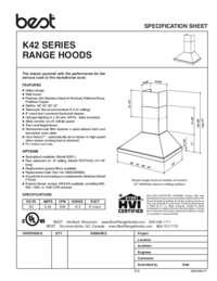 K42 Specification Sheet