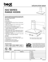 IS42 Specification Sheet