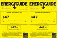 HBQ18JADW Energy Guide