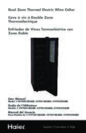HVTM18DABB Manual