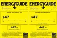 HBQ18JADRS Energy Guide
