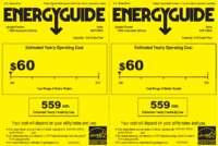 HUF138EA Energy Guide