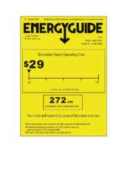 HUM013EA Energy Guide
