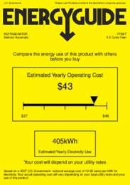 FF6B7 Energy Guide