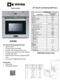 Product Spec. Sheet