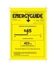 DD350RB Energy Guide