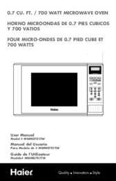 MWM0701 Manual