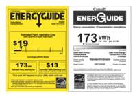 Energy Guide Label