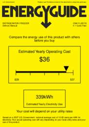 CM411LSSTB Energy Guide