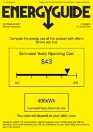FF6BADA Energy Guide
