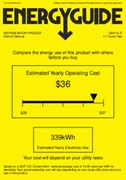 CM411LIF Energy Guide