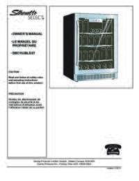 Danby Dbc162blsst Silhouette Select Series Beverage Center