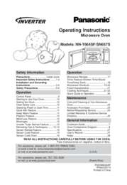NN-SN657S Operating Manual (English)