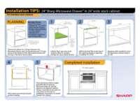 "Installation Tips: 24"" in 24"" Frameless Cabinet"