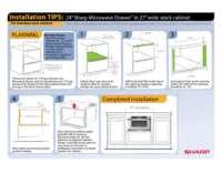 "Installation Tips: 24"" in 27"" Frameless Cabinet"