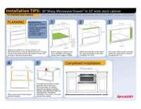 "Installation Tips: 30"" in 33"" Frameless Cabinet"