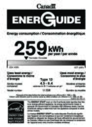 Energy Guide Canada