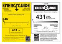 Energy Label CS 1611 + CS 1660