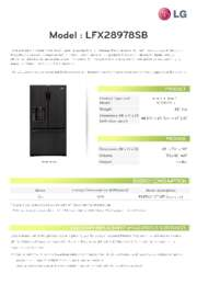 View a PDF of LG's Eco Declaration Report for LFX28978SB English