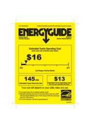 WAS24460UC Energy Guide 2011