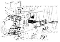 Parts & Accessories: Model DW6W - Portable Countertop Dishwasher