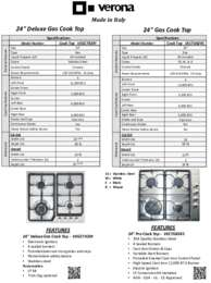 Product Spec. Sheet