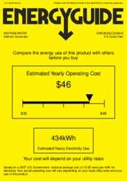 SWC6GBLCSSADA Energy Guide