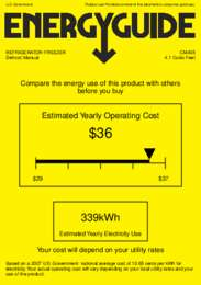 CM405 Energy Guide