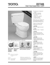 Spec Sheet: CST743S