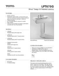 Spec Sheet: LPT670G