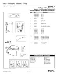 Parts Manual: MS614114CEF, MS614114CEFG