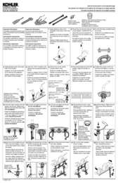 Installation and Care Guide with Service Parts