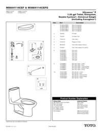Parts Manual: MS604114CEF, MS604114CEFG