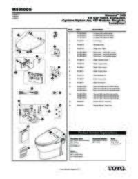 Parts Manual: MS950CG
