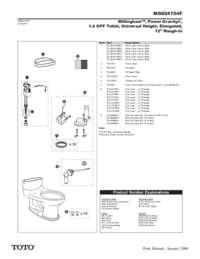 Parts Manual: MS924154F
