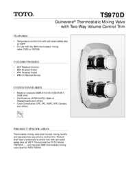 Spec Sheet: TS970D