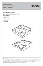 Installation Manual: LT307, LT308