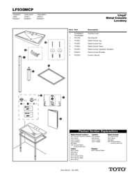 Parts Manual: LF930MCP
