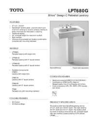 Spec Sheet: LPT680G
