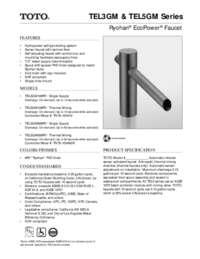 Spec Sheet: TEL3GM, TEL5GM