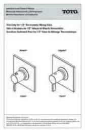 Owners Manual: TS624T, TS626T